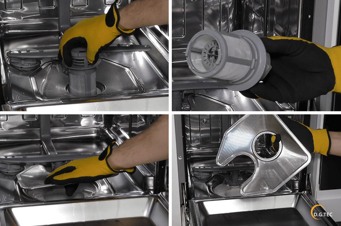 Come pulire il filtro della lavastoviglie Ariston